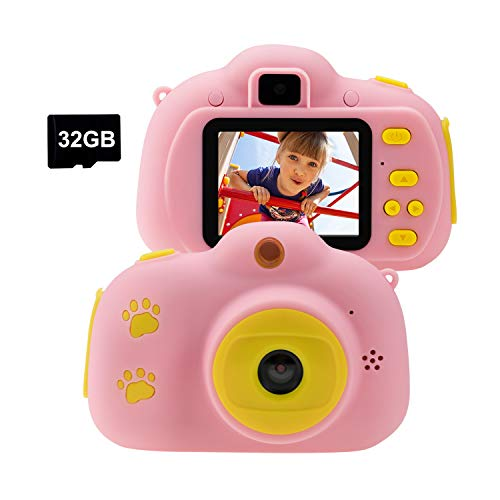 Cocopa Kids Camera Toys for Girls Video Camera 32 GB TF Card Girls Toys Age...