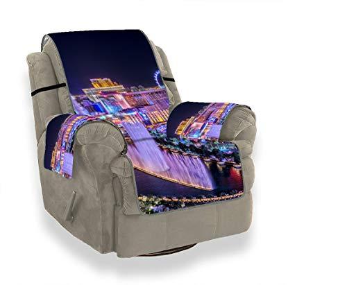 JOCHUAN Las Vegas Avenue Nevada USA Nachtsofa Außenbezug Möbel Sofabezüge Kinderstuhl Schonbezug Möbelschutz Für Haustiere, Kinder, Katzen, Sofa