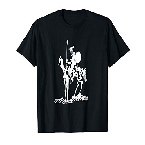Don Quixote Painting Drawing Picasso Shirt - T Shirt for Men and Woman.