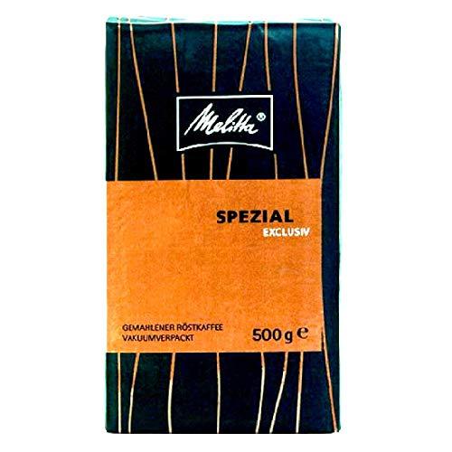 Melitta Spezial Exclusiv Röstkaffee 12 x 500g Kaffee gemahlen