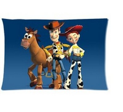"""Daily necessities LTD 2015 New Nice Gift for Kids Anime Pillow Case Toy Story Pillow Cases for Beds 20""""x30"""" (Two Sides)"""