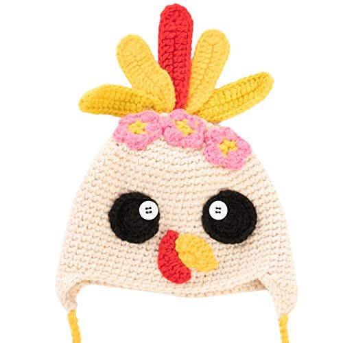 JOYIN Thanksgiving Christmas Beanie Turkey Knitted Hat Cap for Baby Toddler Thanksgiving Dress Up Party, Role Play, Hat Photo Prop and Carnival Cosplay