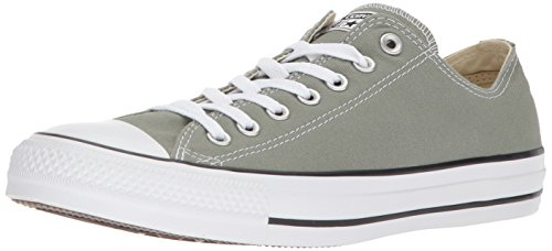 Converse Chuck Taylor All Star Seasonal Canvas Low Top Sneaker, Dark Stucco, 5.5 M US