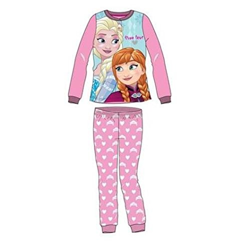 Pijama Micropolar Frozen Niña Rosa