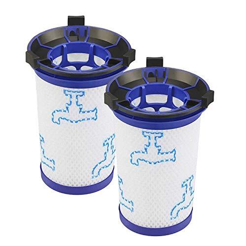 2 Pack Remplace Filtres pour Rowenta Force 360, Lavable et Réutilisable, Kit de Filtres pour Les Aspirateurs Rowenta
