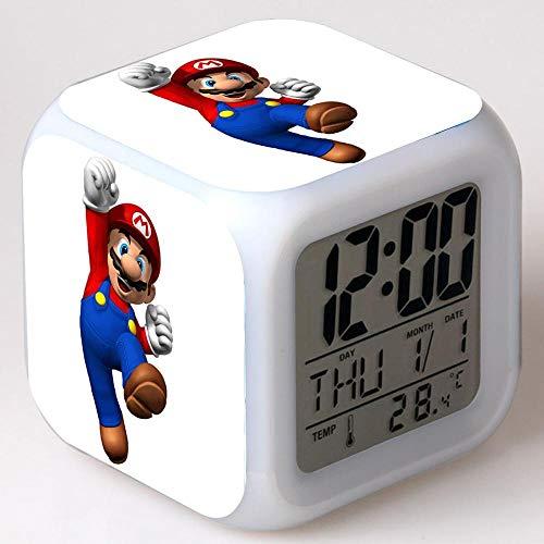 Yyoutop LED Clock Electronic Desk Clock Digital Alarm Clock Children Watch Bedroom