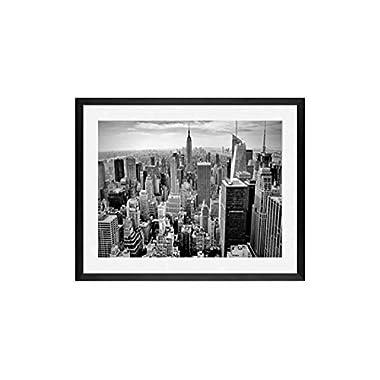 Framed Art, New York- Midtown, fine art print - vintage photography - Manhattan - New York skyline - framed black and white photos