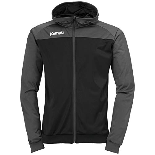 Kempa Herren Prime Multi Jacke Traingsbekleidung, grün Flash/schwarz, XL