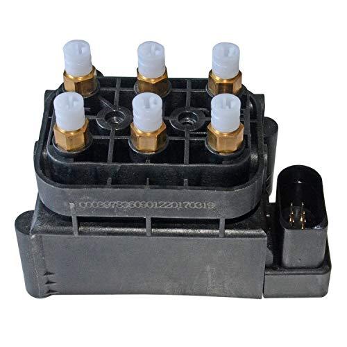 MSQ-CD Bloque de válvulas, unidad de válvulas, suspensión neumática Compatible con Allroad A6 A8 4Z7616007 4Z761600A 4F0616013