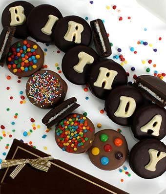 Gifts - Birthday Chocolate Covered OREO Cookies