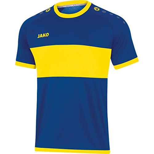 JAKO Camiseta para Hombre Boca Ka, Hombre, Camiseta, 4213, Azul y Amarillo, Small