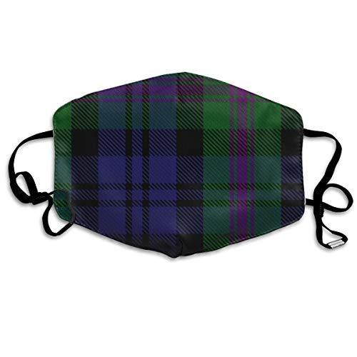Clan Baird Hunting Tartan Große Maske Mundmaske Nackenmaske Bandana Sturmhaube Ostern St. Patrick's Day