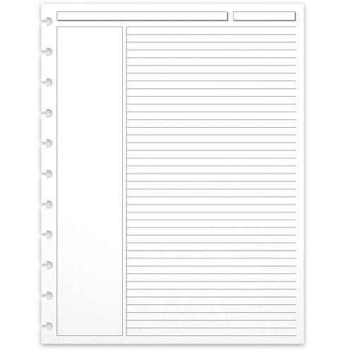 Levenger 300 Circa Annotation 1/4-Inch, Ruled Refill Sheets LTR (ADS5910 LTR)