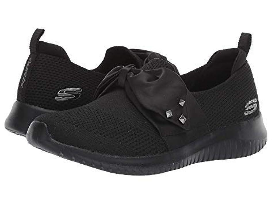 [スケッチャーズ] レディーススニーカー?靴?シューズ Ultra Flex - Satin Night Black US 8.5 (25.5cm) B - Medium [並行輸入品]