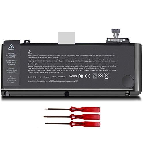 Shareway A1322 A1278 Replacement Laptop Battery Compatible with MacBook 13 inch (2009 2010 2011 2012 Version) MC724LL/A MC374LL/A MC375LL/A MD313LL/A MD314LL/A