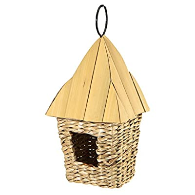 Woodlink Square Roosting Pocket with Bamboo Roof by Woodlink