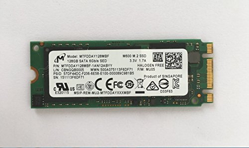 Micron M600 128 GB Serial ATA III - Interne Solid State Drives (SSD) (128 GB, 560 MB/s, 6 Gbit/s)