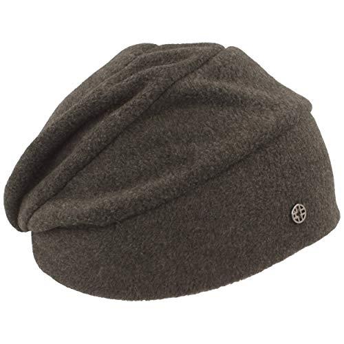 LOEVENICH Damen Winter-Mütze | Fleece-Mütze | Beanie aus weichem Polar Soft Fleece (One Size, Anthrazit)