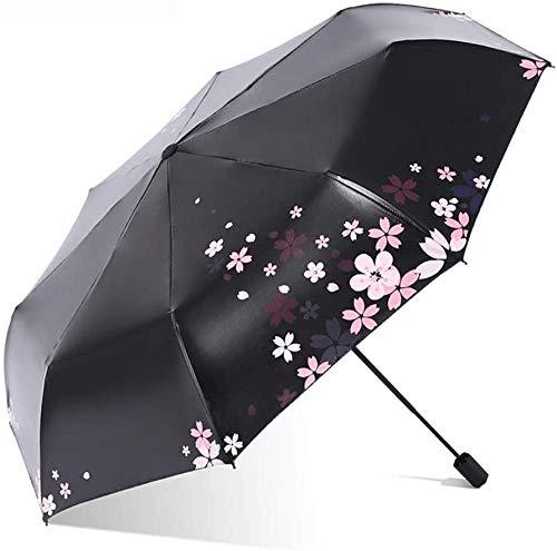 ZJJJD Regenschirm Sonnenschutz, Uv-Schutz, Frisch Faltbarer Sonnenschirm, Regendusche Für Männer Und Frauen-c Regenschirm Sturmsicher Lightweight Wunderschönen Rutschsicherem Premium Qualität