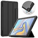 Zhouzl Étui pour Tablette Galaxy Acrylique TPU Retournement Horizontal Smart Case en Cuir avec...