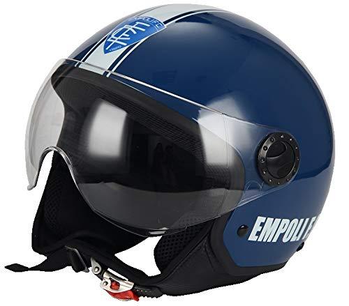 BHR 56156 Casco Moto, Multicolore (Empoli Calcio 801), L