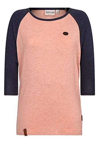 Naketano Damen Longsleeve Immer Am Ballern Long Sleeve T-Shirt