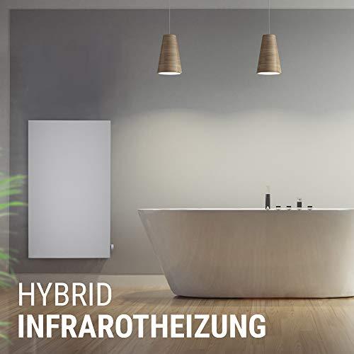 VASNER Konvi VE Hybrid Infrarotheizung mit Thermostat vertikal 1000 Watt Elektroheizung Bild 4*