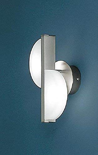 Bankamp Wandleuchte Halogen Nickel Wandlampe 2-fl. Design