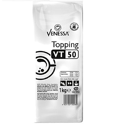 Venessa Topping VT 50, 10 x 1 kg, enthält 50% Magermilchpulver, Topping für Kaffeevollautomaten