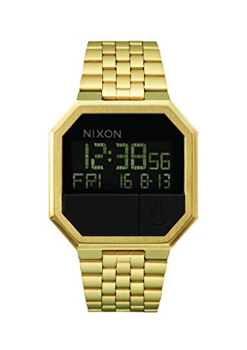 Nixon Unisex Digital Quarz Uhr mit Edelstahl Armband A158502-00