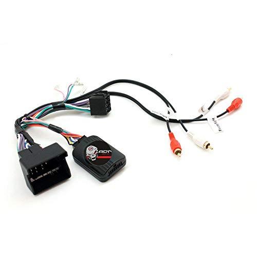 Interface Commande au volant AD2Alpine compatible avec Audi Avec Ampli