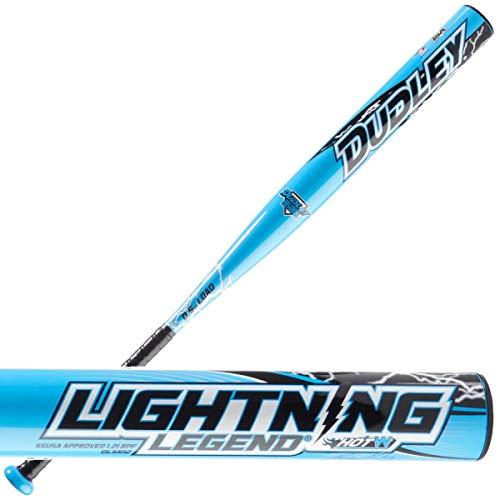 Dudley Bobby Nifong Signature Lightning Legend HOTW Senior Slowpitch Softball Bat - 34-inches 26.5oz, Blue