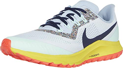 Nike Women's Wmns Air Zoom Pegasus 36 Trail Running Shoes,Gray (Oil Gray / Barely Gray-Black-Wolf Gray 2),8.5 UK,43 EU