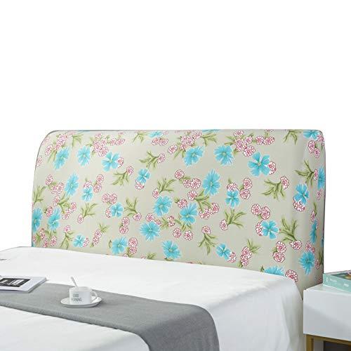 Funda para cabecero de cama, elástica, a prueba de polvo, elástica, para cama tapizada de madera, cama de piel, cama Full J (47-59 pulgadas)