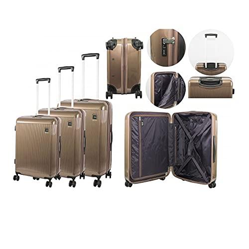 Travel Suite Case Rock London Hardshell Trolley Case 8W 3 PCS