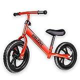 Bicicleta sin Pedales. First Bike. para Niños de 2 a 5 años. Bici para Aprender a Mantener el Equilibrio. Correpasillos. Primera Bici. Bicicleta Infantil Evolutiva. Bici de Aprendizaje.