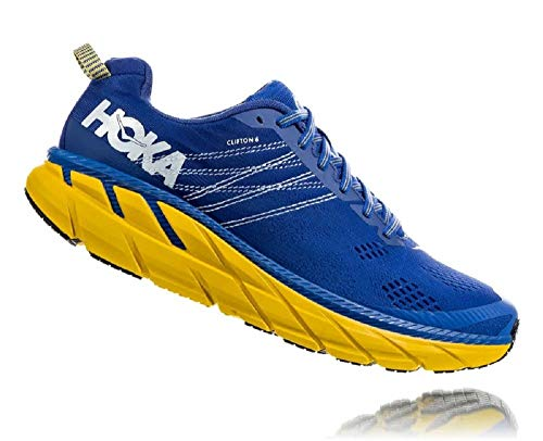 Hoka CLIFTON 6, Zapatillas de Running por Hombre, Azul (NebulasBlue/Lemon NBLM), 42 2/3 EU
