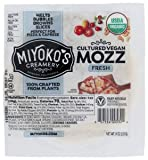 Miyoko's Creamery Organic Vegan Cultured Vegan Mozzarella 8 ounce (Pack of 6)