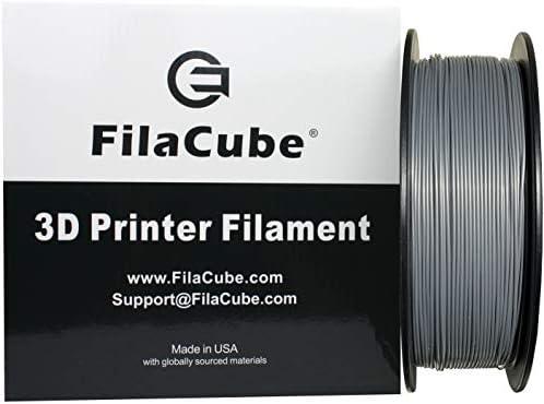 Silver PLA 3D Printer 1 75mm Filament FilaCube 1 75 mm 1kg PLA 2 3D Printing Plastic Silver product image