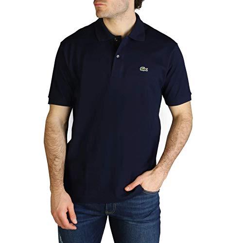 Lacoste L1212 T-Shirt Polo, Uomo, Blu, L