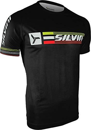 SILVINI Promo–Camiseta de, Hombre, Color Negro, tamaño Small