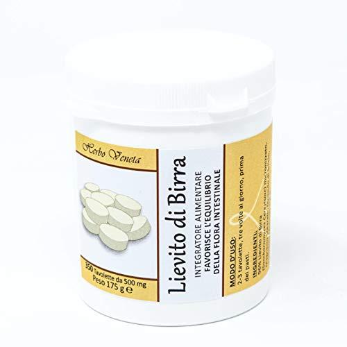 Herbo Veneta Lievito di Birra Tavolette - 350 Compresse da 500 mg