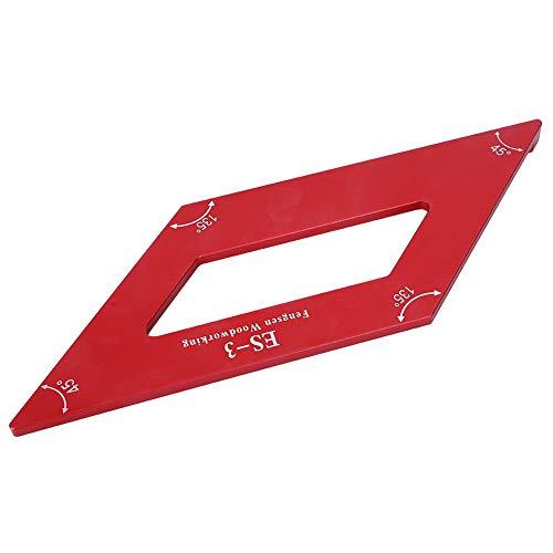 Règle de mesure en alliage d'aluminium de Gague de marquage traceur 0.1mm règles d'angle de précision Anti-Corrosion pour planche de bois