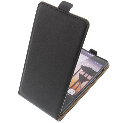 foto-kontor Tasche für Cubot X15 Smartphone Flipstyle Schutz Hülle schwarz