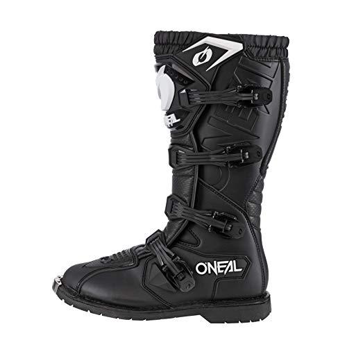 O'Neal Rider Boot MX Stiefel Schwarz Moto Cross Motorrad Enduro Boots, 0329-1, Größe 44 - 2