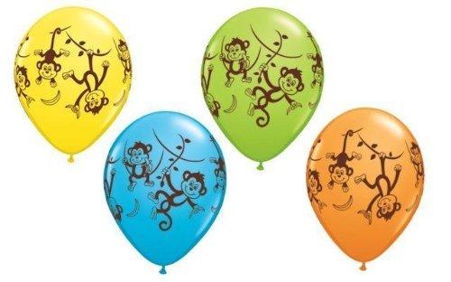 Mr Moustache/Mr Moustache Qualatex 11 pouce Mélange Ballons En Latex x 25