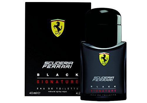 Ferrari Scuderia Black Signature Eau De Toilette, 40 ml - 1 Unità