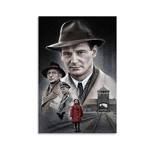 DRAGON VINES Schindler's List of Classic Film Poster e stampe su tela Dormitorio Decorazione da parete 60 x 90 cm