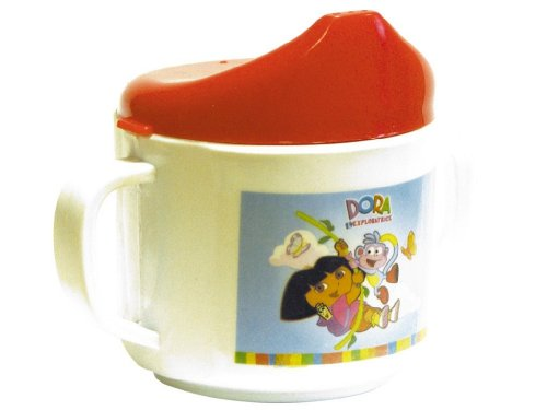 Partner Jouet - SPLMUGDORAP - Imitation - Mug à Anses Baby Dora