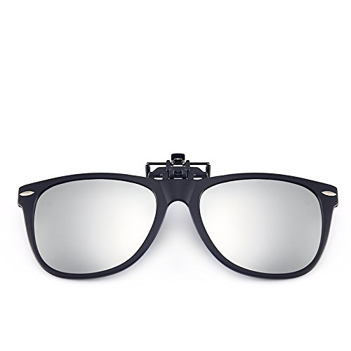 LLZTYJ Zonnebrillen/Wind/Licht/Auto/Verjaardag/Geschenk/Decoratie/Zonnebrillen/Clip Mannen En Vrouwen/Zonnebrillen/Spiegel Clip Lens/Polarisator/Mannen Clip-On Zonnebrillen Mannen